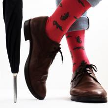 Eco sokken   Custom made   Upcycled katoen   301239