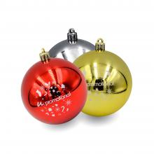 Kunststof kerstbal | 80 mm | Glans | 22001
