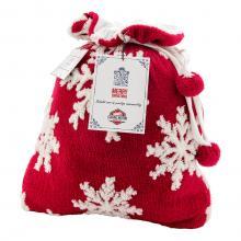 Tasche | Fleece | Multifunktional | Schneeflocken