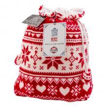 Tasche | Fleece | Multifunktional | Weihnachtsmotiv