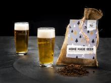 Bierpakket | Maak je eigen bier | Jute zakje