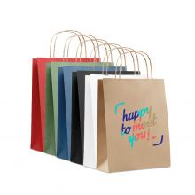 Papieren tas gerecycled | A5 | Kleine oplage