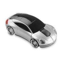 Autovormige draadloze muis