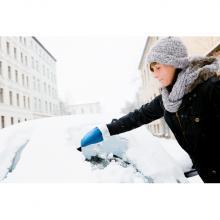 IJskrabber | Met wollen handschoen | Plastic