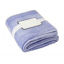 Flanelen deken | Polyester | Met lint en bedrukbare kaartje