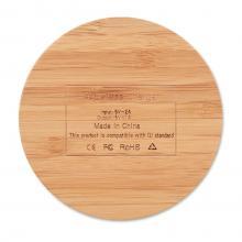 Draadloze oplader | Bamboe | 8759434