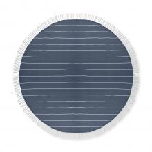 Ronde hamamdoek   180 grams   Ø 150 cm   8759512 Blauw