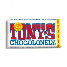 Tony's chocolonely chocolade reep | 180 gram | Max073 Wit