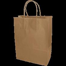 Papieren tas | A4 | Beste prijs | Gedraaid papieren handvat  | maxp017 Bruin