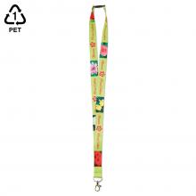 RPET Keycord  Full colour keycord   15 - 20 - 25 mm  Zelf samenstellen   75006