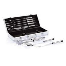 12-delige barbecue set in aluminium koffer