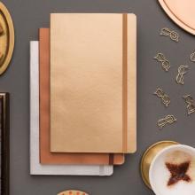 Softcover notitieboek | Deluxe | Metallic