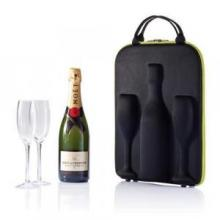 Flute luxe champagne tas