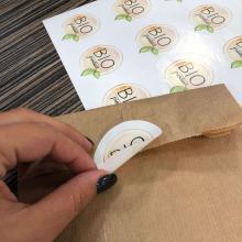 Papieren zakje | Zonder handvat | 37 x 8 x 18 cm | Met full colour sluitzegel | max1084