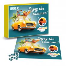 Puzzel met eigen ontwerp | 500 stukjes | In A4 doosje | Max500