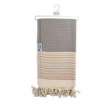 Hamam handdoek| Luxe | 90 x 170 cm | 96005 Bruin