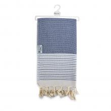 Hamam handdoek| Luxe | 90 x 170 cm | 96005 Blauw
