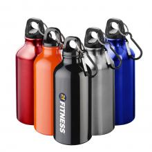 Drinkfles | Aluminium | Karabijnhaak | 400 ml