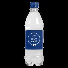 Gevuld waterflesje | 500 ml | Bruiswater | Lekvrij | 435000pd Blauw