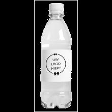 Gevuld waterflesje | 500 ml | Bruiswater | Lekvrij | 435000pd Transparant