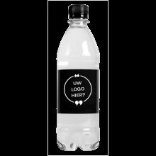 Gevuld waterflesje | 500 ml | Bruiswater | Lekvrij