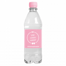 Waterfles | 500 ml | Platte dop | Bubbels