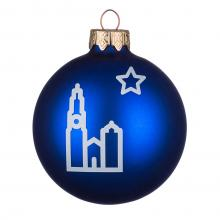 Gekleurde kerstbal | Mat | 66 mm | 121002