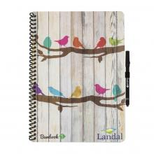 Bambook softcover | A4 | 100% duurzaam | Full colour