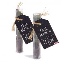 Kerstboom in plastic buisje   Let it Grow!   Gepersonaliseerd label   29280004