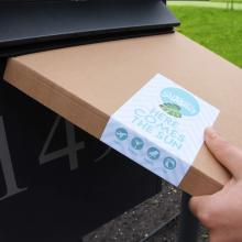 Brievenbuspakket met multifunctionele hamamdoek 180 grams | 90 x 170 cm | Summerbox004