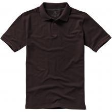 Polo's bedrukken | Heren | 200 grams katoen | Luxe | 9238080 Bruin