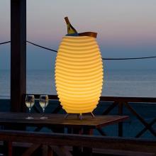 Kooduu | Klein | LED-Lampe, kabelloser Lautsprecher und Kühler