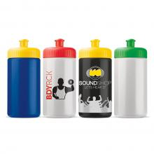 Bidon | 500 ml | Gekleurde dop