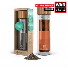 LoyalTea | Thee To Go infuser | Incl. losse thee | 350 ml
