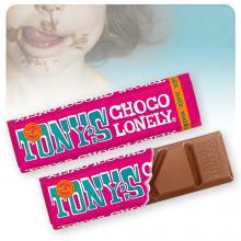 Tony's Chocolonely   Chocolade reep   50 gram   max013