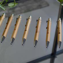Bamboe pen | Gravering of full colour | Blauwschrijvend | max047