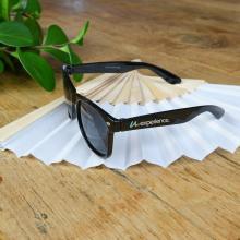 Zonnebrillen bedrukken | Full colour op het pootje | max176