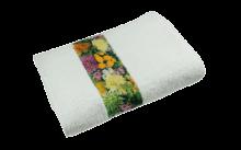 Serviette de toilette | Quadrichromie | 400 g | 100x50 cm