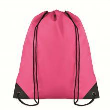 Polyester rugzakje | Goedkoop | Standaard kwaliteit | Maxs021 Fuchsia