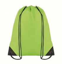 Polyester rugzakje | Goedkoop | Standaard kwaliteit | Maxs021 Lime