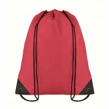 Polyester rugzakje | Goedkoop | Standaard kwaliteit | Maxs021 Rood