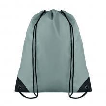 Polyester rugzakje | Goedkoop | Standaard kwaliteit | Maxs021 Grijs