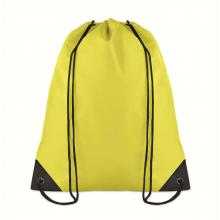 Polyester rugzakje | Goedkoop | Standaard kwaliteit | Maxs021 Geel