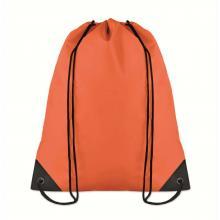 Polyester rugzakje | Goedkoop | Standaard kwaliteit | Maxs021 Oranje