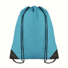 Polyester rugzakje | Goedkoop | Standaard kwaliteit | Maxs021 Turkoois