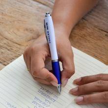 Pen | Full colour | Met rubberen grip | Maxs023