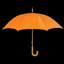 Gekleurde paraplu | Ø 104 cm | Handmatig | Full colour | Maxs035 Oranje