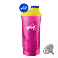 Luxe shaker | 600 ml | 3 compartimenten | Mix & match