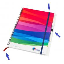 Notitieboekje | Hardcover | Spiraal | A6 | Custom made