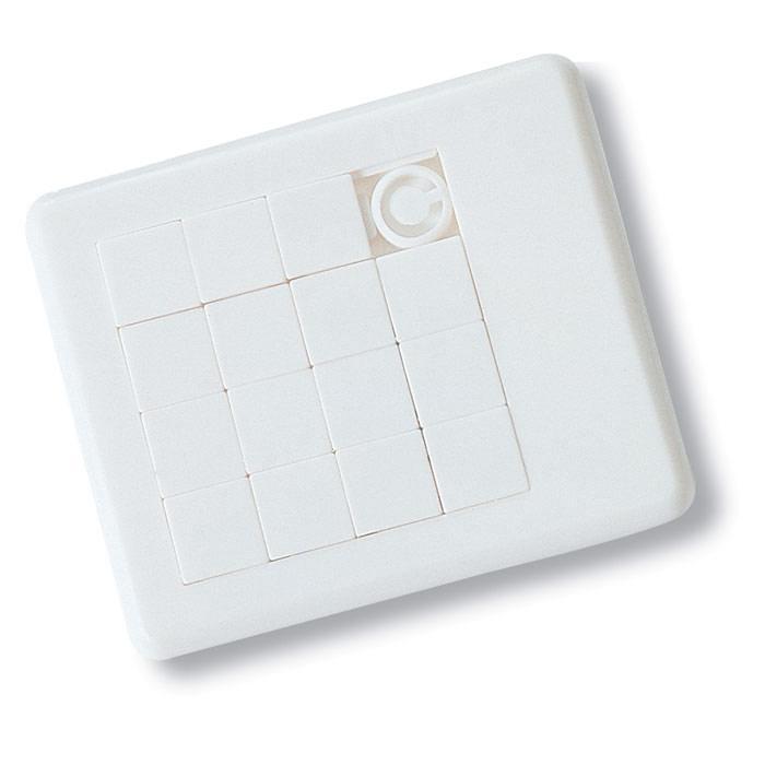 Schuifpuzzel | 24 gram | Plastic | 8754861 Wit